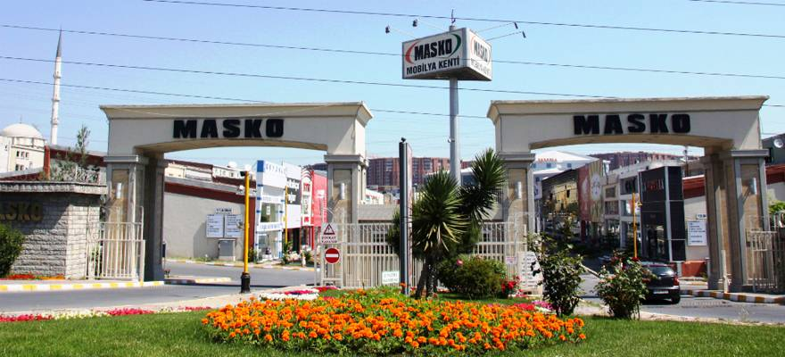 Masko ماسكو مدينة الأثاث و المفروشات التركية في اسطنبول