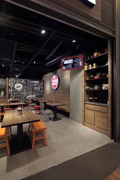 تصميم داخلي مطعم شاورما