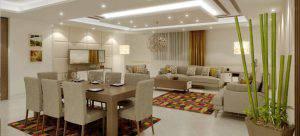 التصميم الداخلي للبيوت و الفلل – شركة تصميم داخلي في تركيا