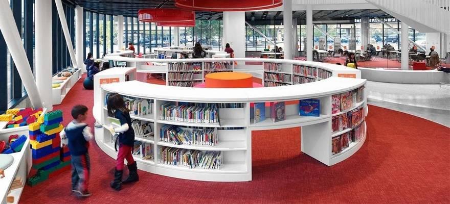 تصميم المكتبات العامة