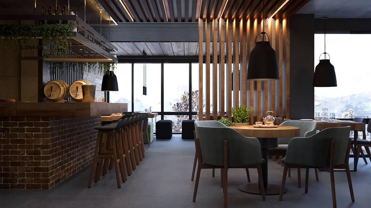 تصميم الموتيلات هي عبارة عن فنادق صغيرة تتبع اسس تصميم الشقق الفندقية