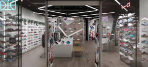 تصميم و ديكورات محلات تجارية ملابس و ذهب