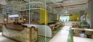 مشروع تصميم مطعم في فيتنام