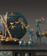 تمثال الغزال الابداعي اكسسوارات منزلية