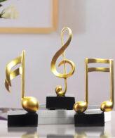 تمثال المقطوعات الموسيقية اكسسوارات منزلية