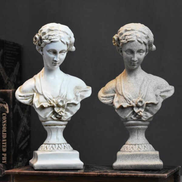 تمثال النحت الروماني للحقبة الرجعية اكسسوارات منزلية