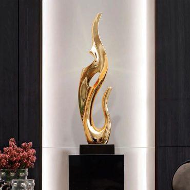 تمثال سطح النحت التجريدي اكسسوارات منزلية