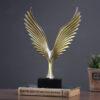 تمثال طائر النسر الامريكي الطائر اكسسوارات منزلية
