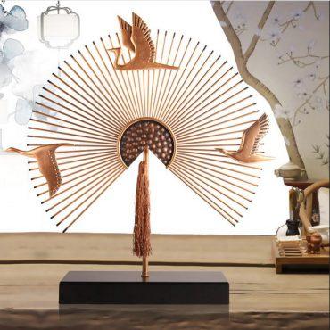 تمثال مرواح الطيور الصينية اكسسوارات منزلية