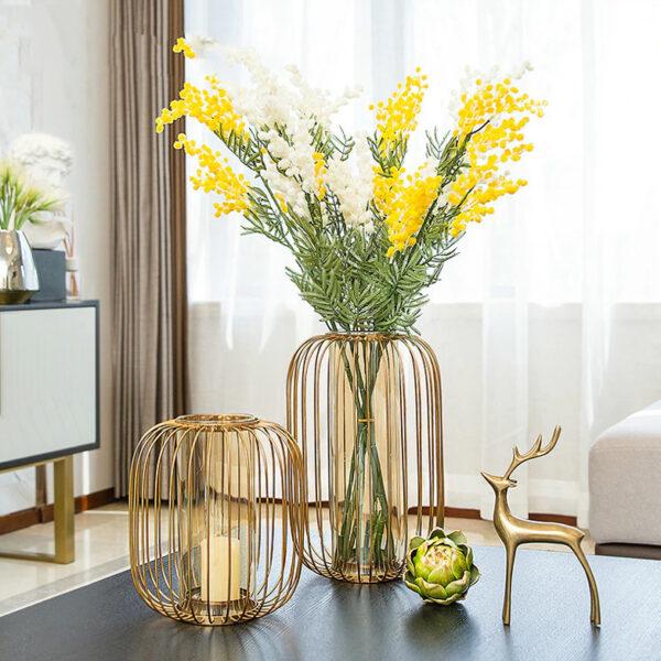 مزهرية قفص الطيور اكسسوارات منزلية