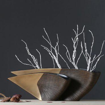 وعاء زهور جذر الشجرة اكسسوارات منزلية