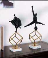 تمثال الرجل المبدع زخرفة مجردة ديكور و اكسسوارات