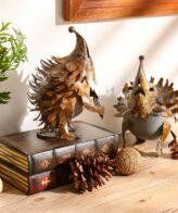 تمثال القنفذ الحديدي للديكور و الزينة ديكور و اكسسوارات