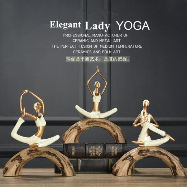تمثال سيدات اليوغا ديكور و اكسسوارات