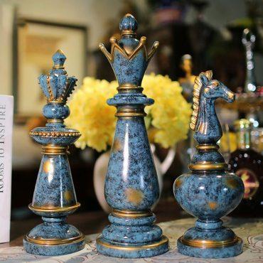 تمثال ديكور قطع الشطرنج الفارسي ديكور و اكسسوارات
