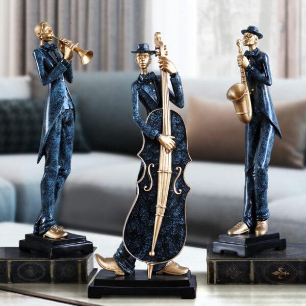 تماثيل فرقة العزف الاوروبية ديكور و اكسسوارات