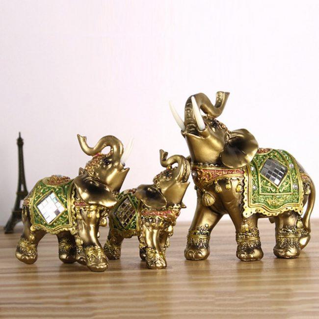 اكسسوارات ديكور المنزل شكل الفيل الديكور الحرف التماثيل ديكور و اكسسوارات