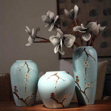 مزهريات السيراميك الصينية الحرفية ديكور و اكسسوارات