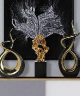 تمثال مسار الحياة الأسود ديكور و اكسسوارات