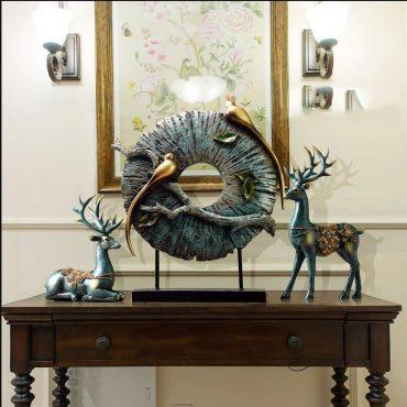 تمثال حلي الطيور الاوروبية ديكور و اكسسوارات