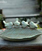 طيور السيراميك ديكور و اكسسوارات