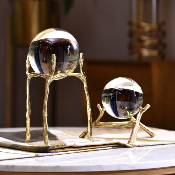 كرة الكريستال الزجاجية ديكور و اكسسوارات