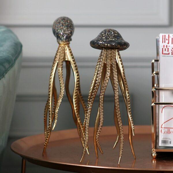 تماثيل نحت الحياة البحرية ديكور و اكسسوارات