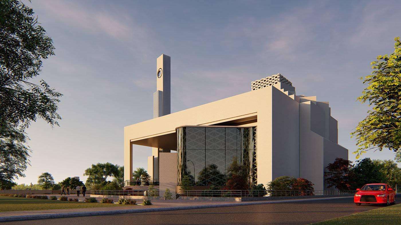 اسس تصميم المسجد