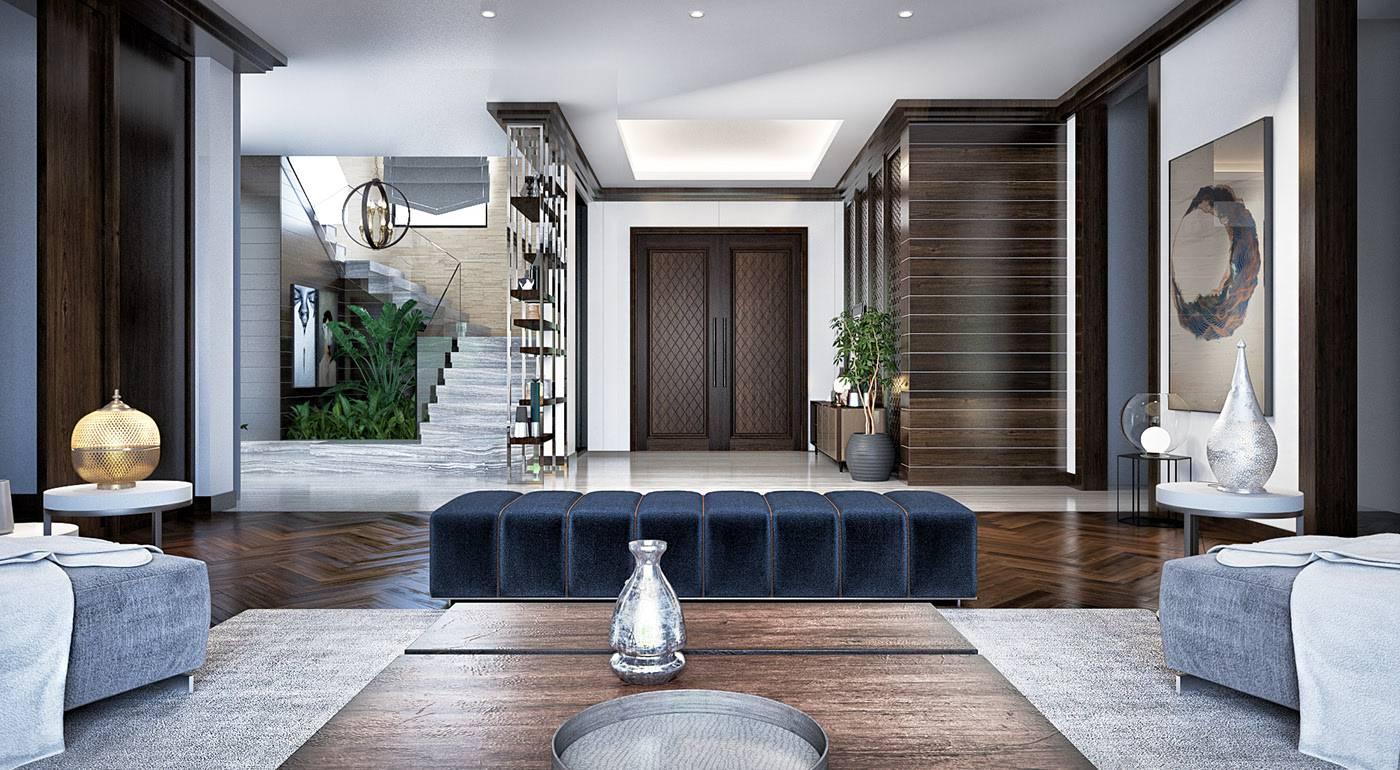 تصاميم غرف جلوس مودرن