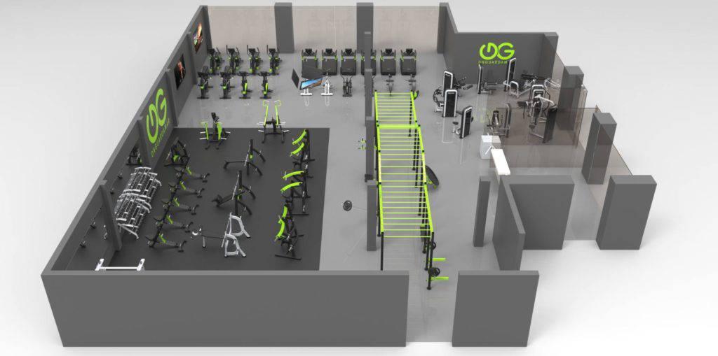 ديكورات و افكار تصميم الصالات الرياضية شرح متطلبات تصميم النوادي الرياضية