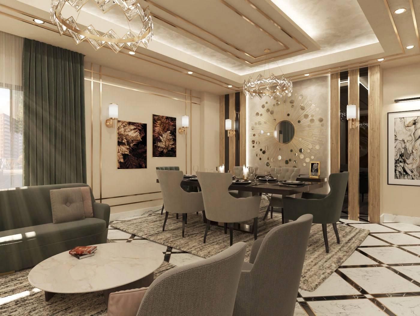 تصميم غرفة طعام