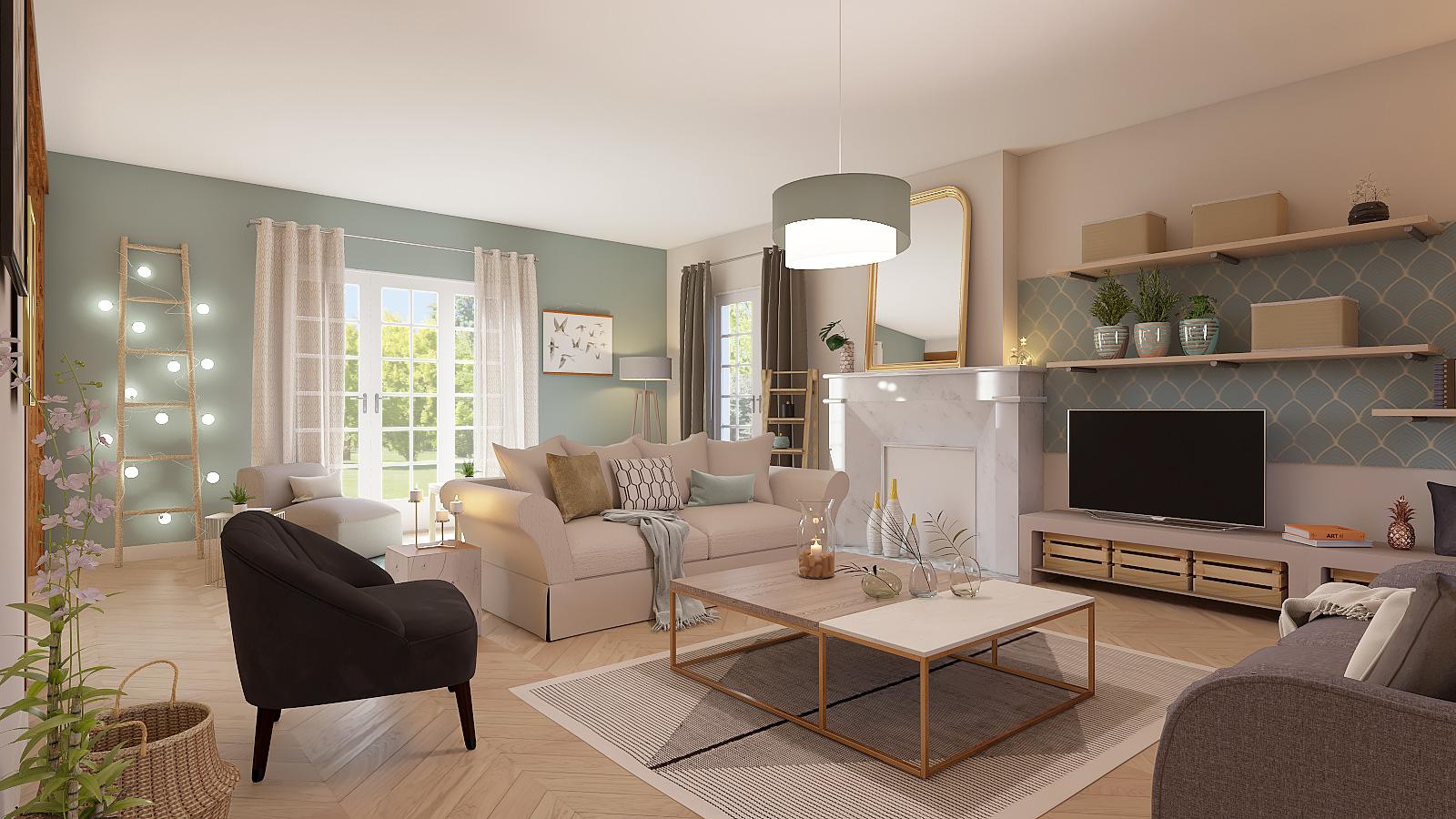 تصميم-غرف-معيشة