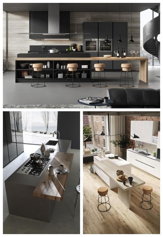 تصميم-مطبخ-مفتوح-على-الصاله