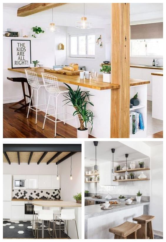 ديكورات و افكار تصميم مطبخ خاص بك و ترتيب اثاث المطبخ لمساحات صغيرة او كبيرة