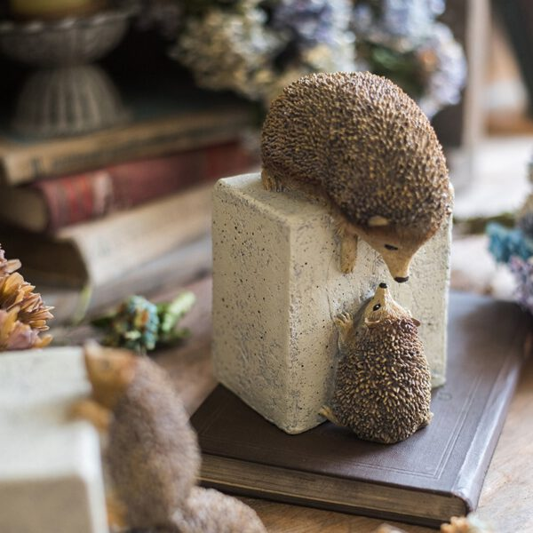 تمثال حيوان القنفذ اكسسوارات منزلية