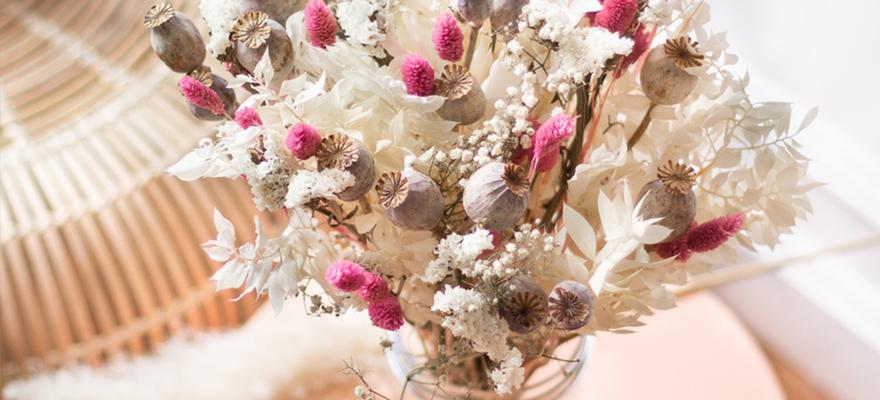 تنسيق الزهور في الديكور