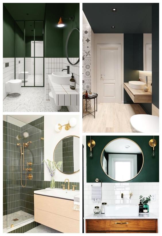 حمام اخضر