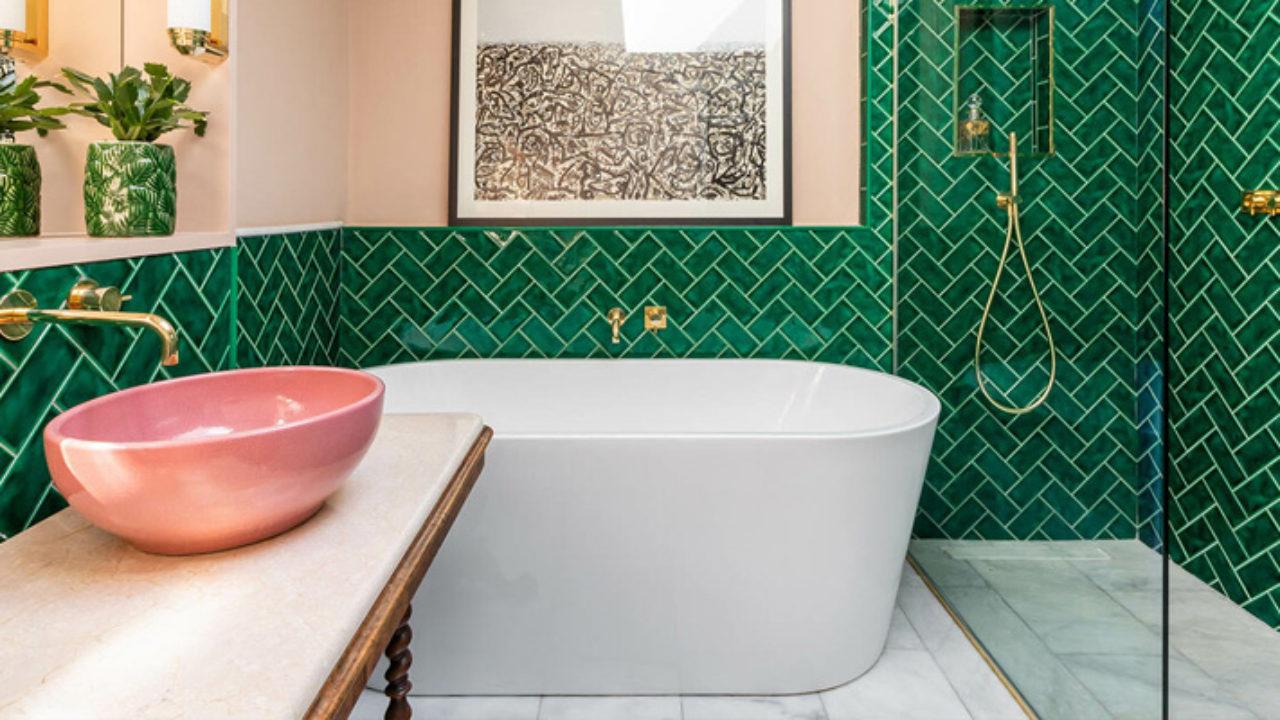 ديكورات حمامات بسيطة from firasf.com