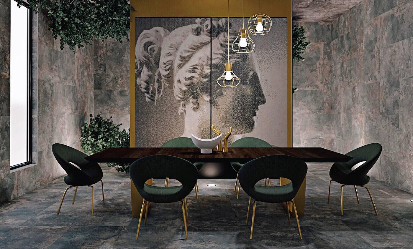 ديكور غرفة طعام مودرن