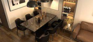 تصميم غرف الطعام