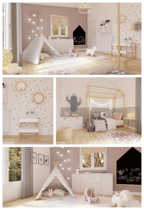 غرفة نوم اطفال