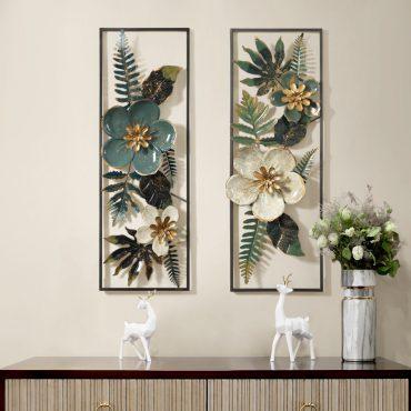 لوحة الزهور الورود المجسمة الجدارية اكسسوارات جدارية