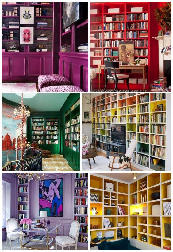 مكتبة-ملونة