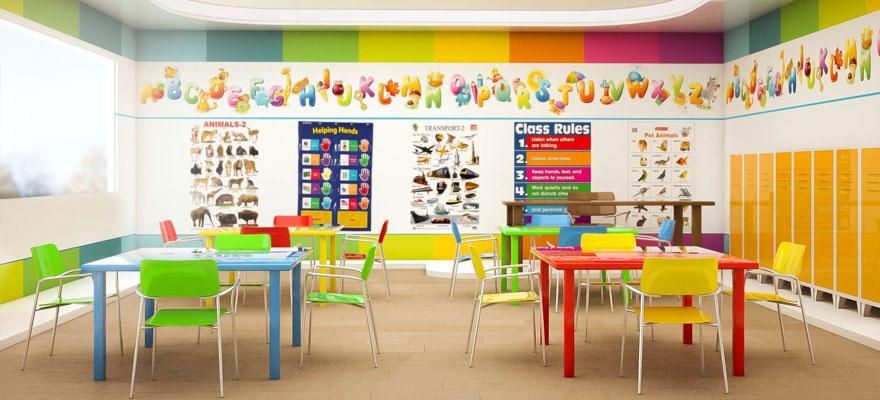 تصميم دور الحضانة و بيوت الأطفال
