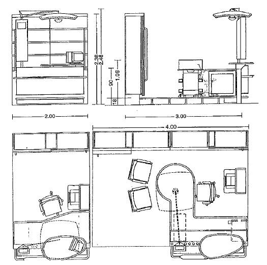 تصميم غرفة الامن في محطة المترو