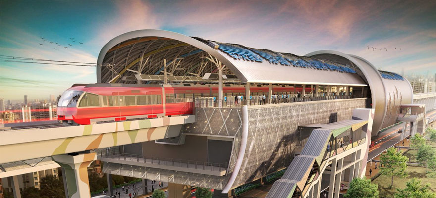 تصميم محطات القطارات