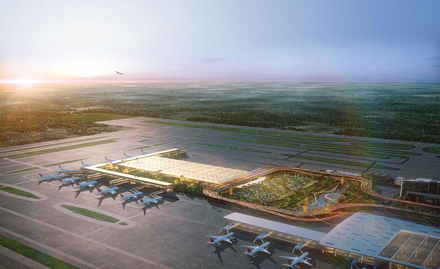 تصميم مطارات