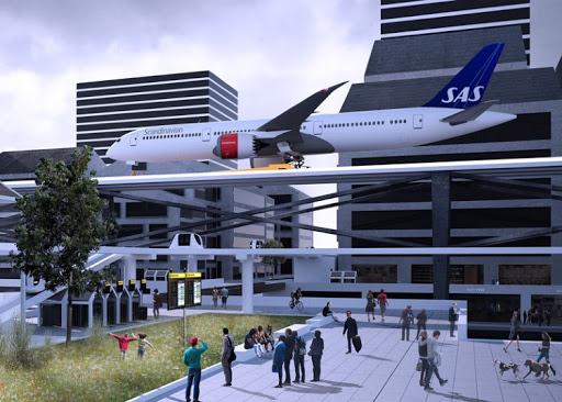 تصميم مطار