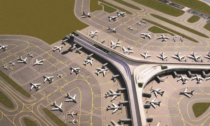 ديكور مطارات