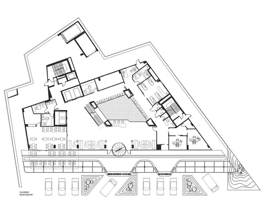 مشروع تصميم مستشفى عام